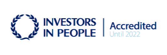 Investors in People, accredited until 2022