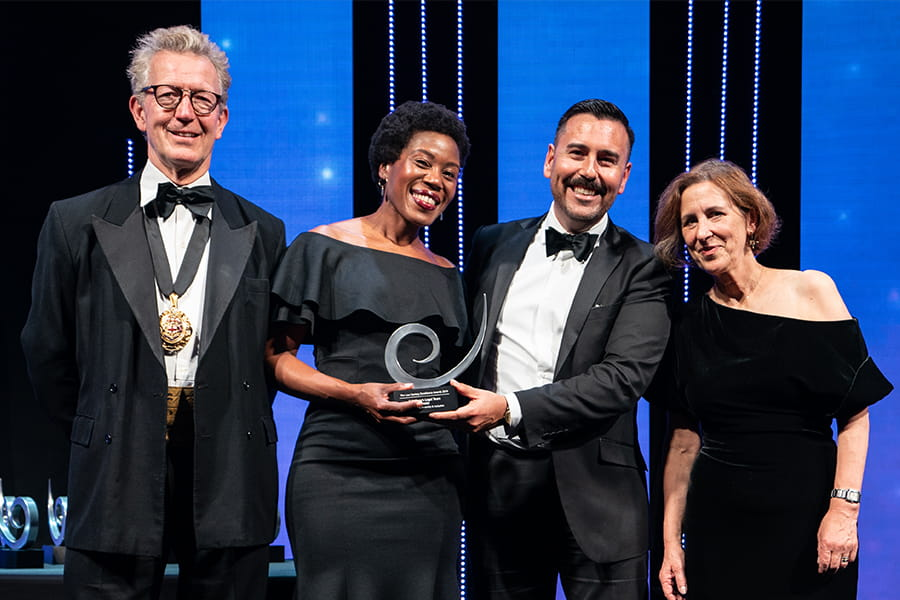 Excellence in Diversity and Inclusion Winner Sainsbury's Legal Team