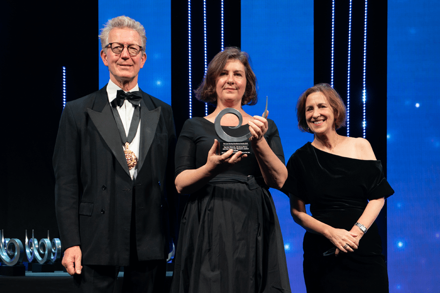 Law Society Gazette Legal Personality of the Year Winner Harriet Wistrich of Birnberg Pierce and the Centre of Women's Justice