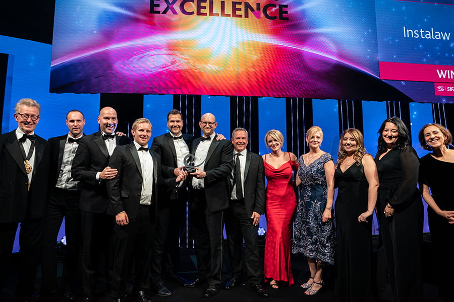 Small Law Firm of the Year Winner Instalaw Solicitors
