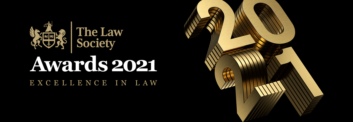 Law Society Awards 2021 excellence in law