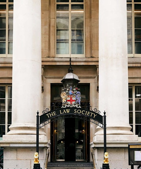 Entrance to the Law Society building