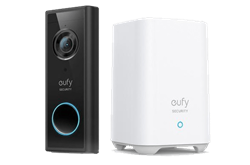 An image of the Eufy doorbell, which comes in two parts.
