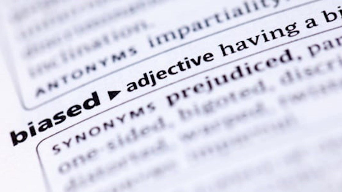 biased dictionary definition