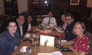 Dine-around at the ABA Young Lawyers Division spring conference 2018