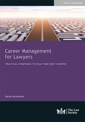Career Management for Lawyers book cover