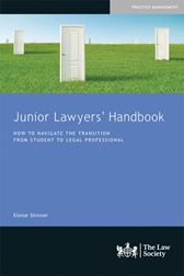 Junior Lawyers' Handbook book cover