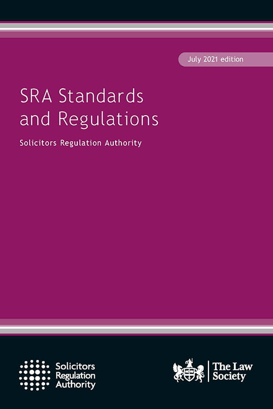 SRA Standards and Regulations July 2021 edition